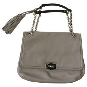 Lanvin Happy bag in it grey